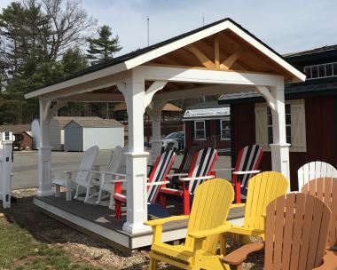 10X14 Pavilion by Pine Creek Structures